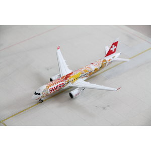 "Herpa 1:200 Swiss International Air Lines ""Fête des Vignerons"" A220-300"