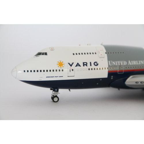 """Inflight 1:200 Varig """"Star Alliance""""  B747-300"""