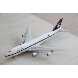 Inflight 1:200 Qatar Airways B747SR-81 (B747-200)
