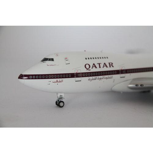 Inflight 1:200 Qatar Airways B747SR-81 (B747-200)