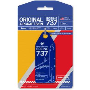 Aviationtag Aviationtag - Boeing 737 – N7705A - Southwest (blue)