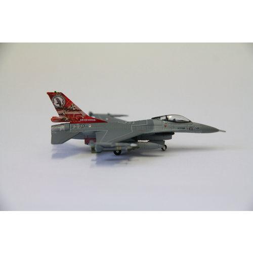 Herpa 1:200 Fighting Falcon F-16 KLU, Royal Netherlands Air Force 322 Squadron , Leeuwarden AB - 75th Anniversary F16A
