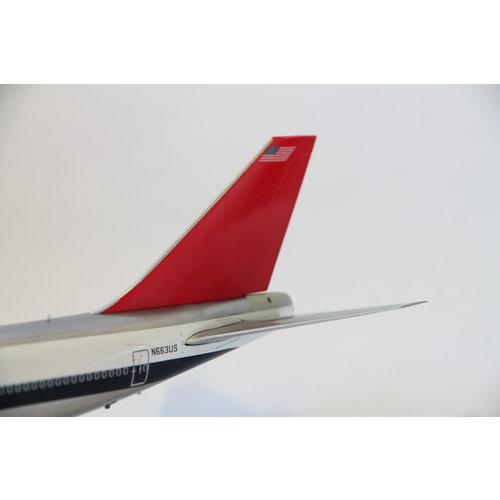 Gemini Jets 1:200  Northwest Airlines Boeing 747-400 - Flaps Down