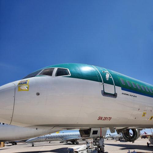 Aviationtag Aviationtag - Boeing 757 – EI-LBT - Aer Lingus (green)