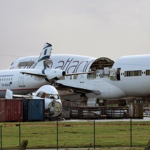Aviationtag Aviationtag - Boeing 747 – G-VAST - Virgin (white)