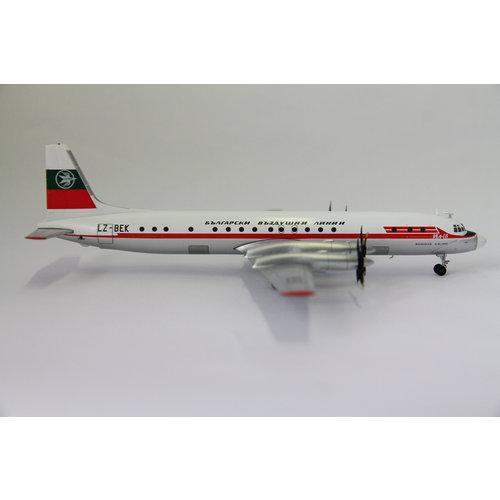 Herpa 1:200 Balkan Bulgarian Airlines Ilyushin IL-18