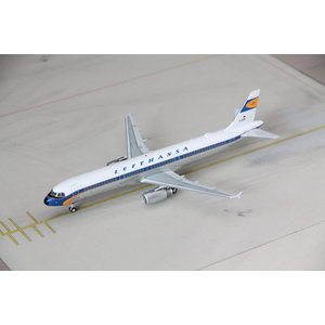 """JFox 1:200 Lufthansa """"retro"""" A321"""