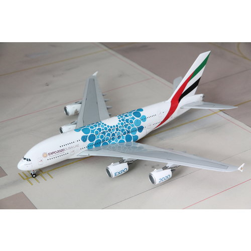 "Gemini Jets 1:200 Emirates ""Blue EXPO 2020"" A380"
