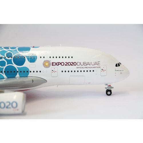 "Gemini Jets 1:200 Emirates ""Blue EXPO 2020"" A380"