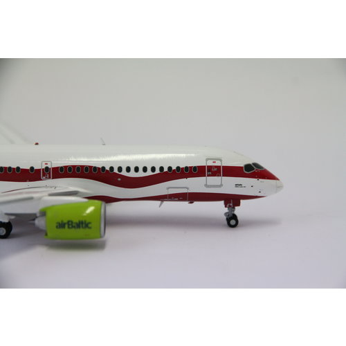 "JC Wings 1:200 Air Baltic A220-300 ""Latvia 100th"""