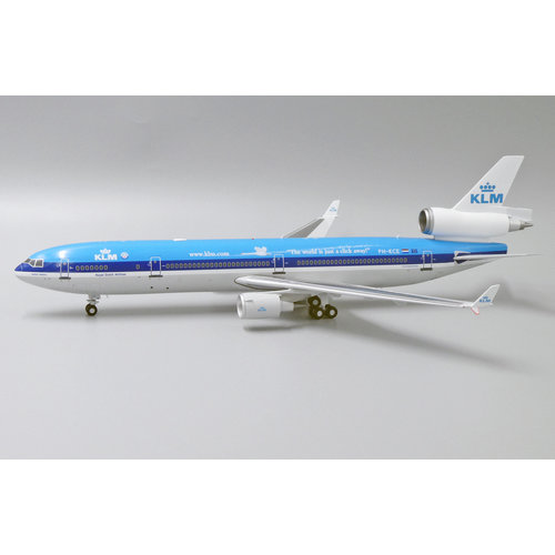 """JC Wings 1:200 KLM """"The World Is Just a Click Away"""" McDonnell Douglas MD-11"""