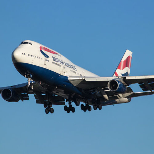 Aviationtag Aviationtag - Boeing 747 - G-CIVE -  British Airways (white)