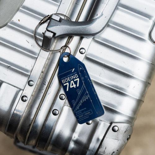 Aviationtag Aviationtag - Boeing 747 - G-CIVE -  British Airways (blue)