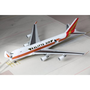 Gemini Jets 1:200  Kalitta Boeing 747-400F - Interactive