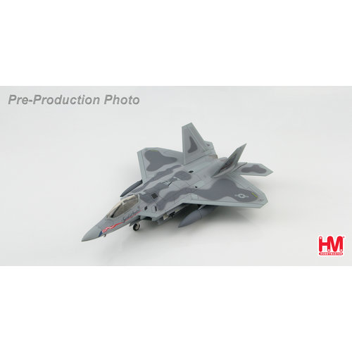 "Hobby Master 1:72 Lockheed F-22A Raptor BuNo. 91-001, ""Spirit of America"" (With underwing 4 x AIM-120)"