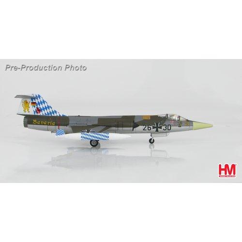 """Hobby Master 1:72 Lockheed F-104G Starfighter 26+30, JG.32 """"Bavaria"""", Luftwaffe, July 1983"""