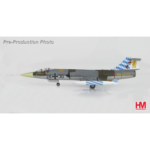 "Hobby Master 1:72 Lockheed F-104G Starfighter 26+30, JG.32 ""Bavaria"", Luftwaffe, July 1983"