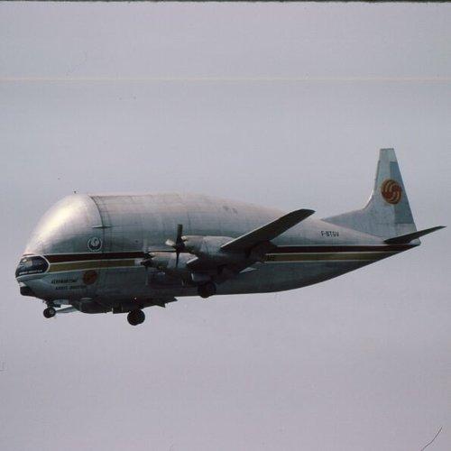 Aviationtag Aviationtag - 377SGT 'Super Guppy' – F-BTGV - Aero Spacelines Super Guppy Turbines - Silver