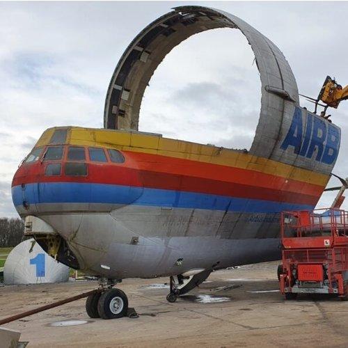 Aviationtag Aviationtag - 377SGT 'Super Guppy' – F-BTGV - Aero Spacelines Super Guppy Turbines - Orange