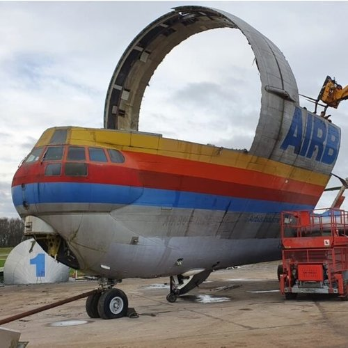 Aviationtag Aviationtag - 377SGT 'Super Guppy' – F-BTGV - Aero Spacelines Super Guppy Turbines - Red