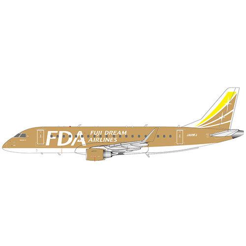 "JC Wings 1:200 Embraer ERJ170-200STD Fuji Dream Airlines ""Gold Color"" JA09FJ"