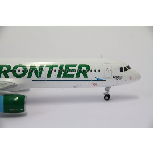 """Gemini Jets 1:200 Frontier Airlines """"Virginia the Wolf"""" A321"""