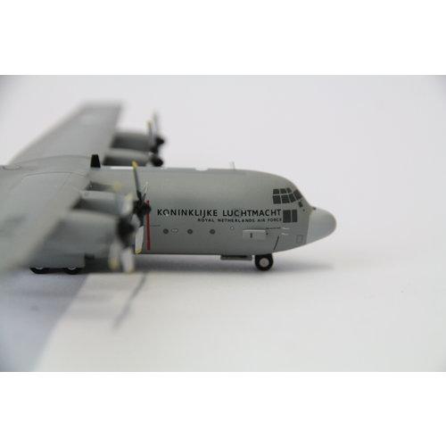 Herpa 1:200 RNLAF Lockheed C-130H Royal Netherlands Air Force 336 sq. 25 Years