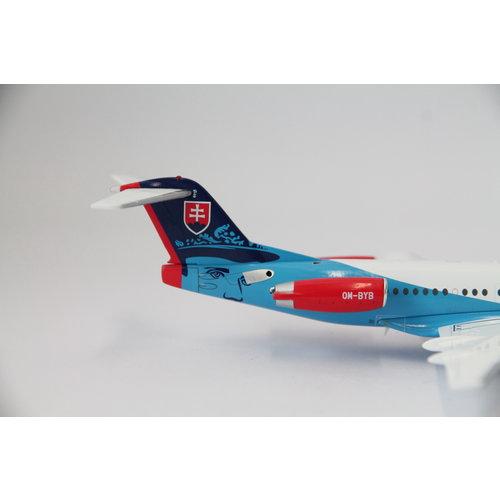 JC Wings 1:200 Slovakia Government Flying Service Fokker 100