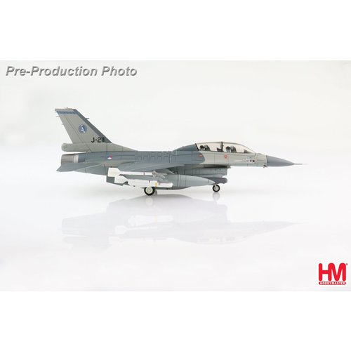 Hobby Master 1:72 Lockheed F16AM J-211, 322 Squadron, RNLAF, Volkel AB, 2006