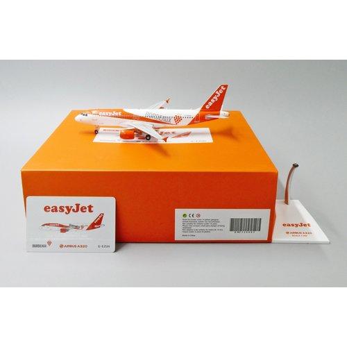 """JC Wings 1:200 Easyjet  """"Bordeaux"""" A320"""