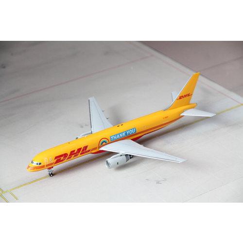 "JC Wings 1:200 DHL  ""Thank You"" B757-200(PCF)"