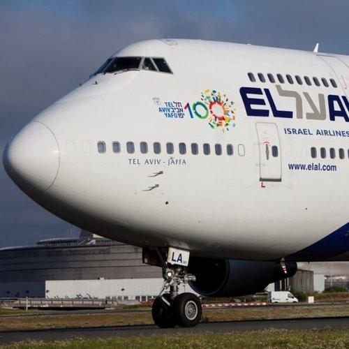 Aviationtag Aviationtag - Boeing 747 – 4X-ELA - El Al (grey)