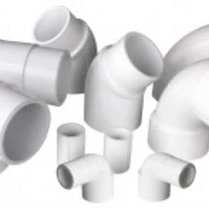 PVC Stukken voor Spa Inch Maatvoering