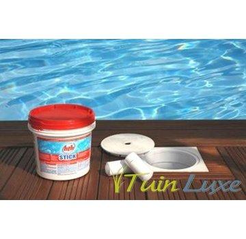 HTH Chloorsticks - 4,5 kg - 300 gram per stick - HTH