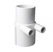 """waterway 2"""" M/F manifold with 2 x 3/4"""" M+ smooth 2 ports"""