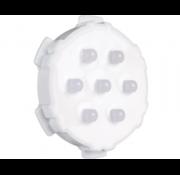 Wellis RGB 7-LED meerkleurig hoofdlicht