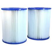 Paar Pleatco PRB25SF-PAIR-filters