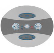 Poly Planar 5-button keypad overlay
