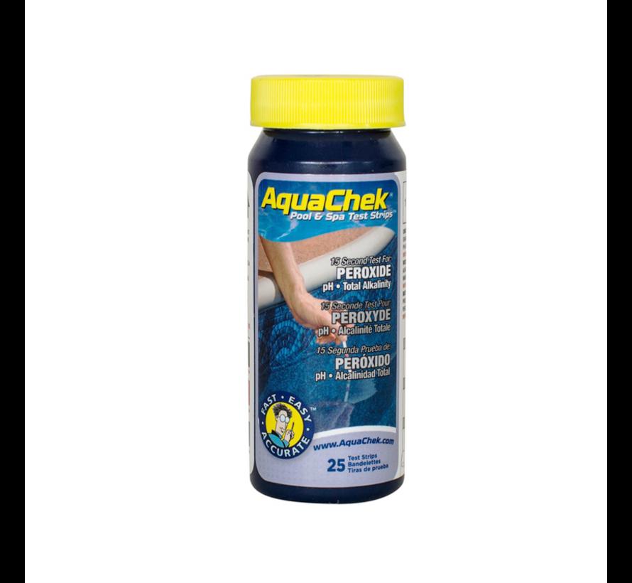 Aquachek peroxide teststrips