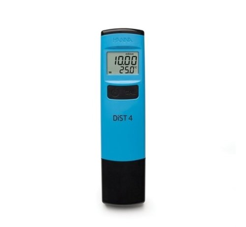 HANNAinstruments Dist 4 zakformaat geleidbaarheidstester, tot 19,99 mS/cm
