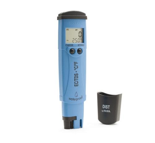 HANNAinstruments Waterbestendige zakformaat EC/TDS/temp.-tester, 20 mS/cm - 10 ppt (DIST6)