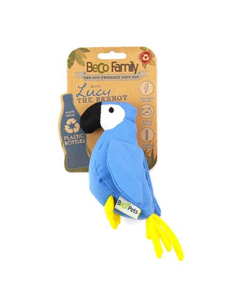 BECO PETS BECO PLUSH TOY - PARROT