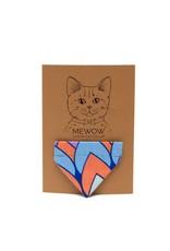 HIRO + WOLF CAT BANDANA FEATHERS