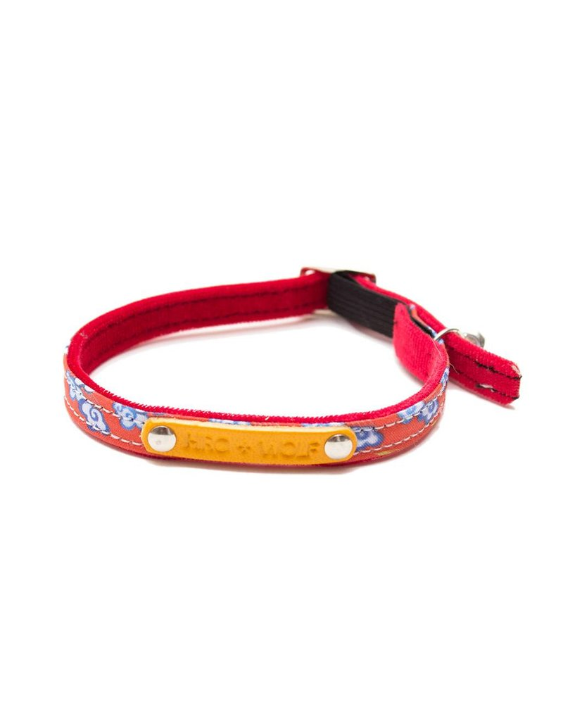 HIRO + WOLF CAT COLLAR CHINESE CLOUDS