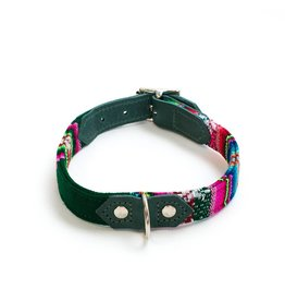HIRO + WOLF Dog Collar Inca Holly