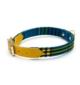 HIRO + WOLF Dog Collar Shuka Blue