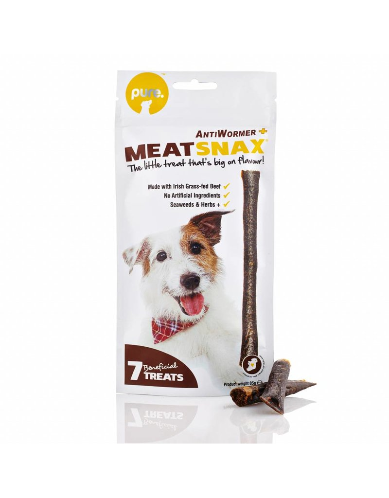 MEAT SNAX ANTI-WORM 85G