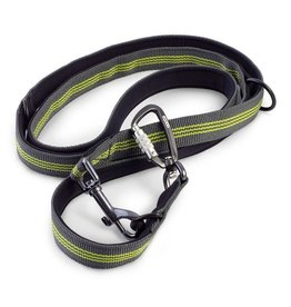 EQDOG Pro Leash D.Grey/Green