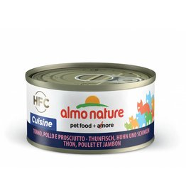 ALMO Almo Hfc 70 Cat Cuisine - Tuna Chicken And Ham