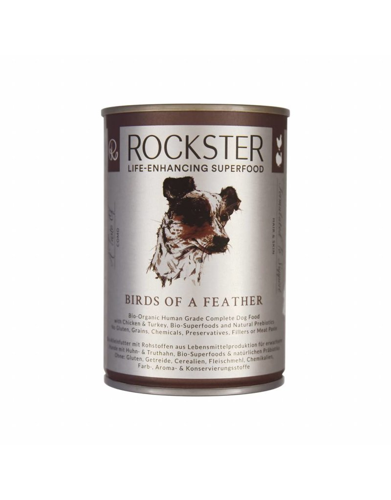 THE ROCKSTER BIRDS OF A FEATHER (CHICKEN & TURKEY)